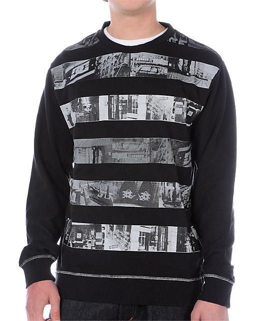 DC Dave Black Crew Sweatshirt