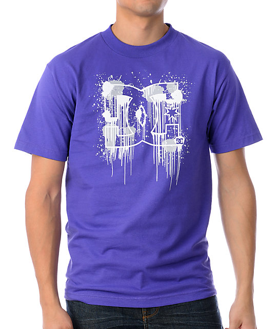 DC Down Pour Purple T-Shirt