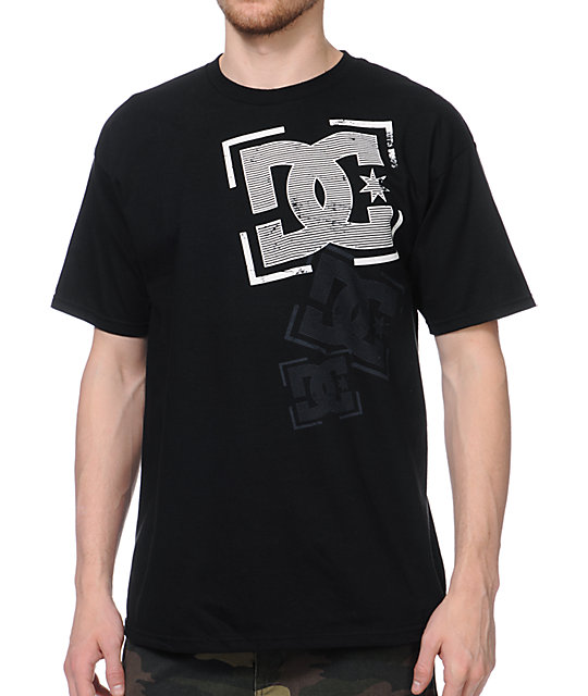 DC Dribble Black T-Shirt