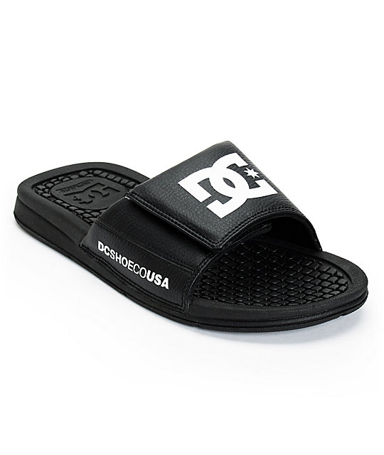 DC Drifter Black Slide Sandals