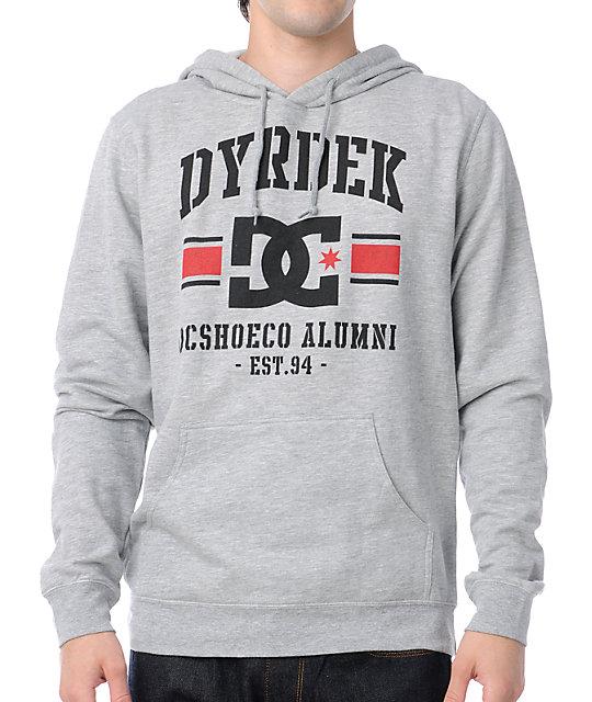 DC Dyrdek Alumni Grey Pullover Hoodie
