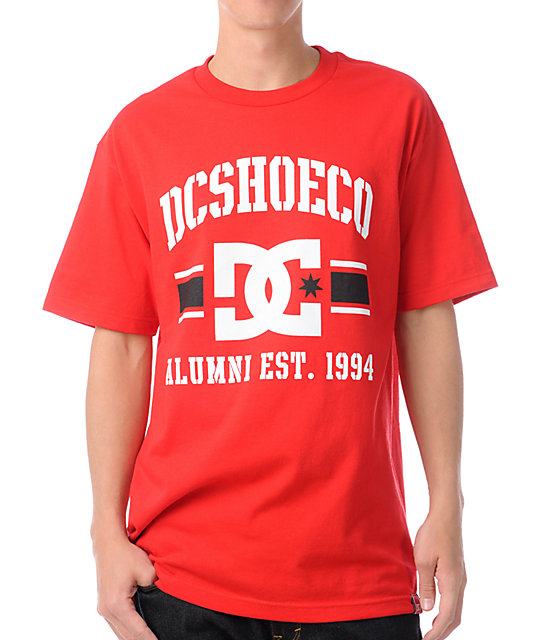 DC Dyrdek Alumni Red T-Shirt
