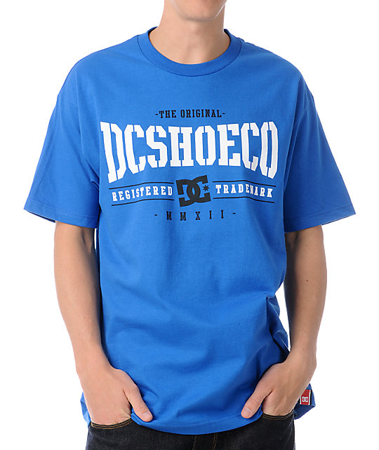DC Dyrdek Knockout Royal Blue T-Shirt