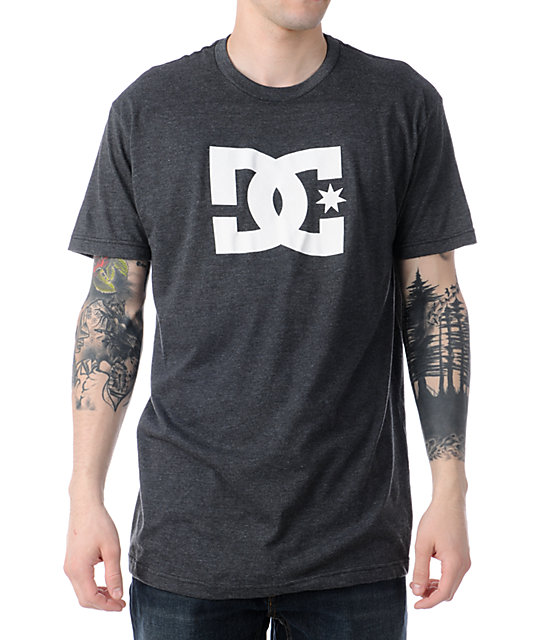 DC Dyrdek Star Charcoal Grey T-Shirt