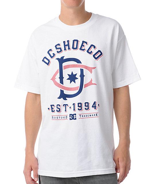DC Dyrdek Throwback White T-Shirt