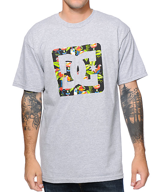 DC Five PM Grey T-Shirt