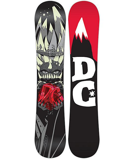 DC Focus 155cm Wide Snowboard