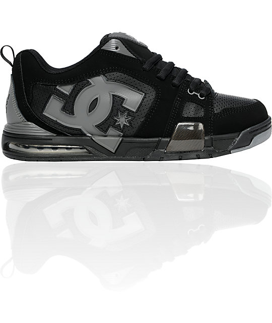 DC Frenzy Black & Battleship Shoes