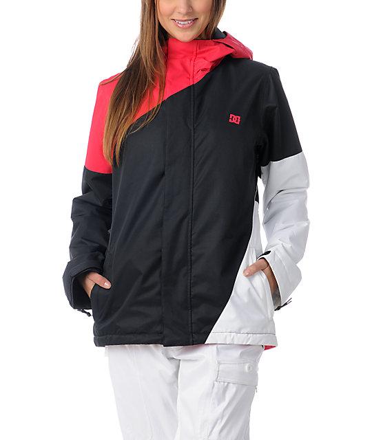 DC Fuse Pink & Black 5K Snowboard Jacket