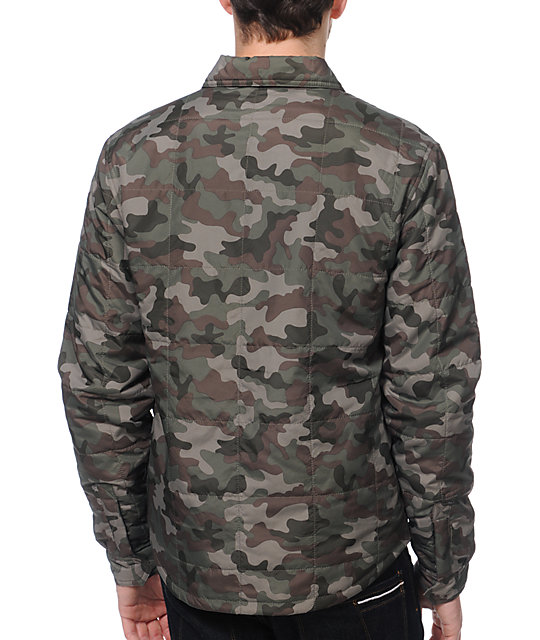 DC Goosen Camo Insulated Jacket