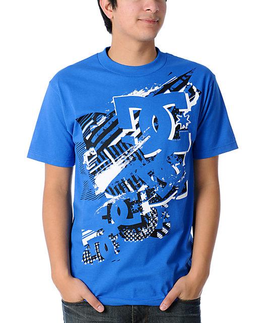 DC Got Blasted Royal Blue T-Shirt