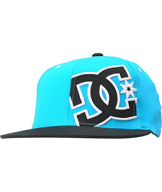 DC Hammering Teal & Black FlexFit Hat
