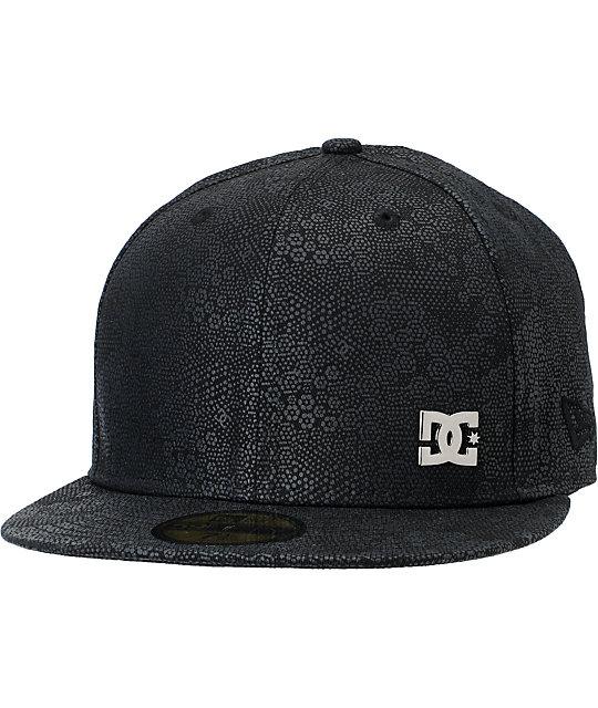 DC Hidden Black New Era Fitted Hat