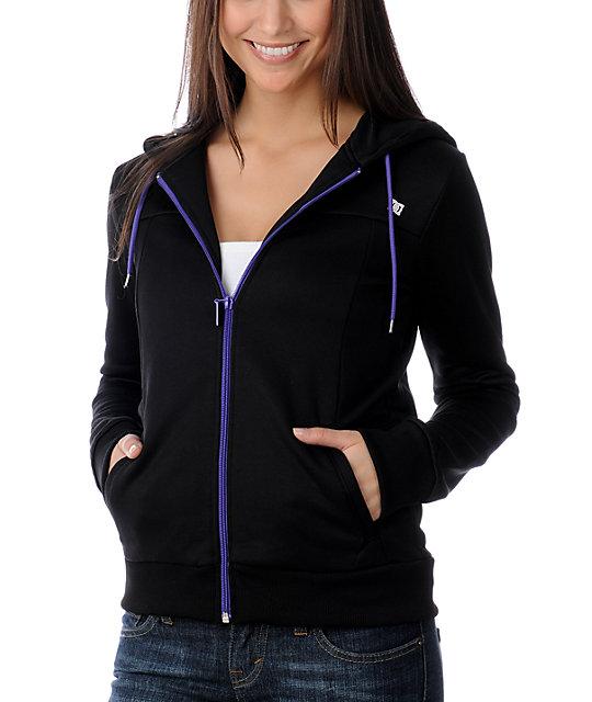 DC Hubert Black Tech Fleece Jacket