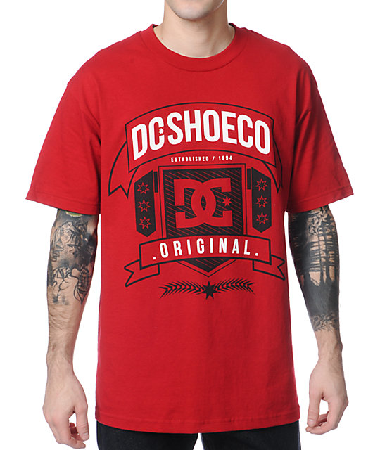 DC Industry Dark Red T-Shirt