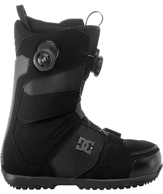 DC Judge Black Snowboard Boots