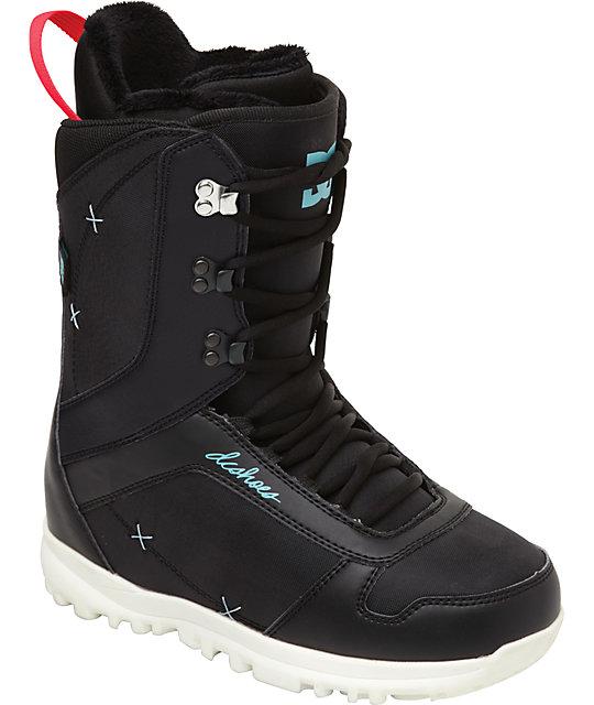 DC Karma Black Womens Snowboard Boots