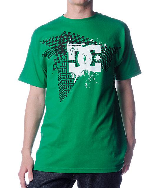 DC Keep Checkin Green T-Shirt