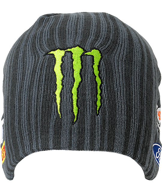 DC Ken Block Ford Charcoal Beanie