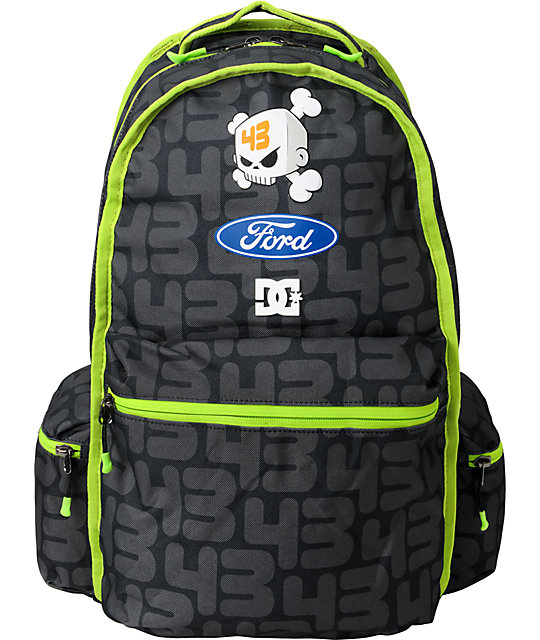 DC Ken Block TW 43 Monster Energy Skate Backpack