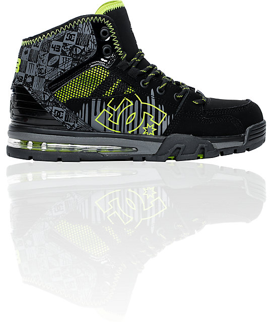dc ken block versatile hi wr water resistant shoes. Black Bedroom Furniture Sets. Home Design Ideas