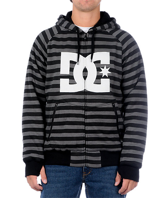 DC Kupress Black Tech Fleece Jacket