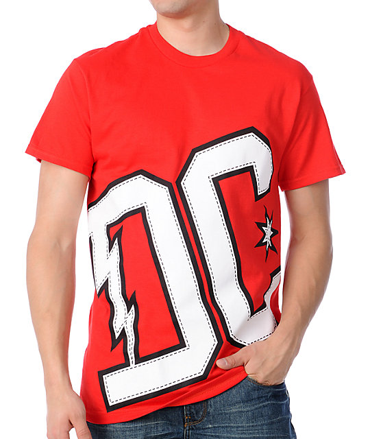 DC Lancaster Red T-Shirt