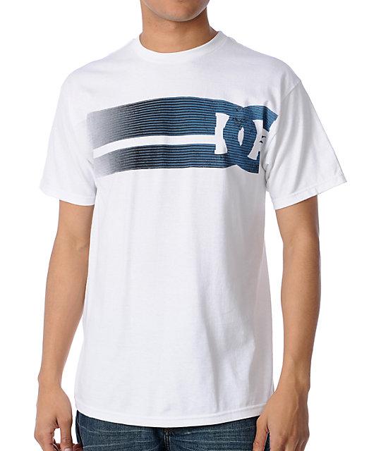 DC Lay Back White T-Shirt