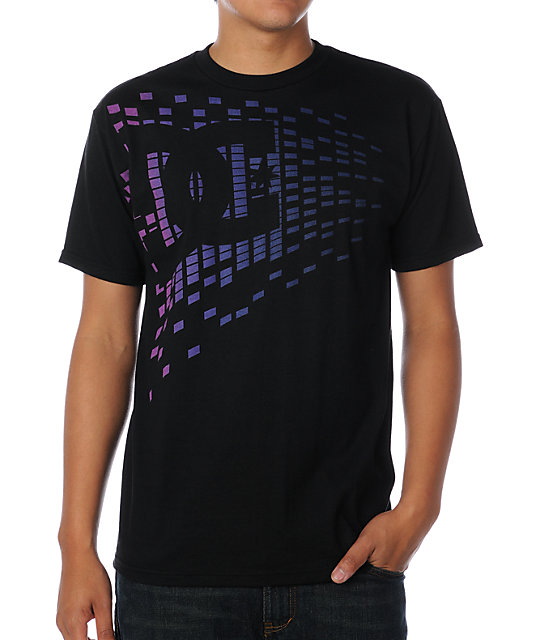 DC Light Bright Black T-Shirt