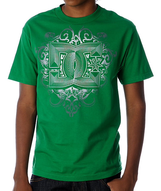 DC Metal Worker Green T-Shirt