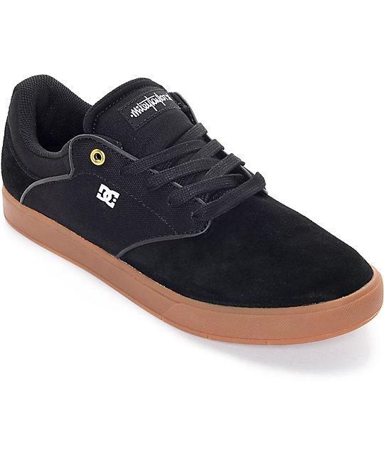 DC Mikey Taylor Black & Gum Skate Shoes