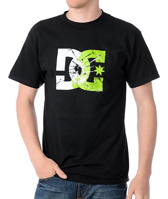 DC Motor Crash Black T-Shirt