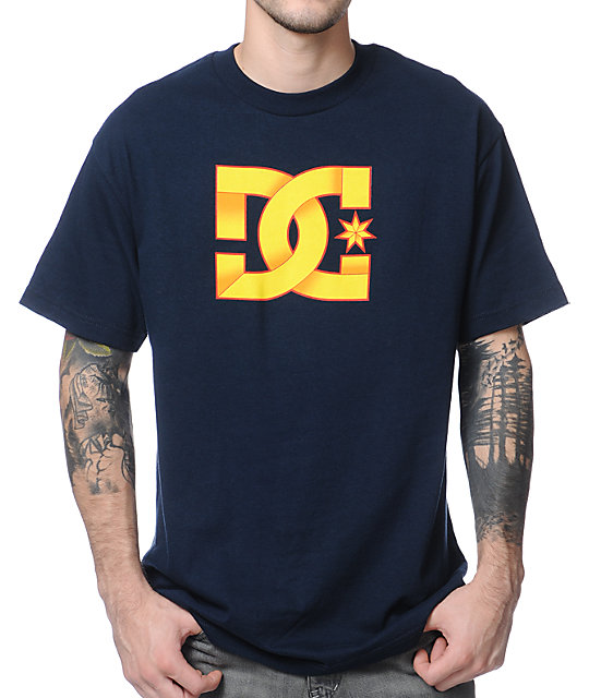 DC Origami Navy Blue T-Shirt