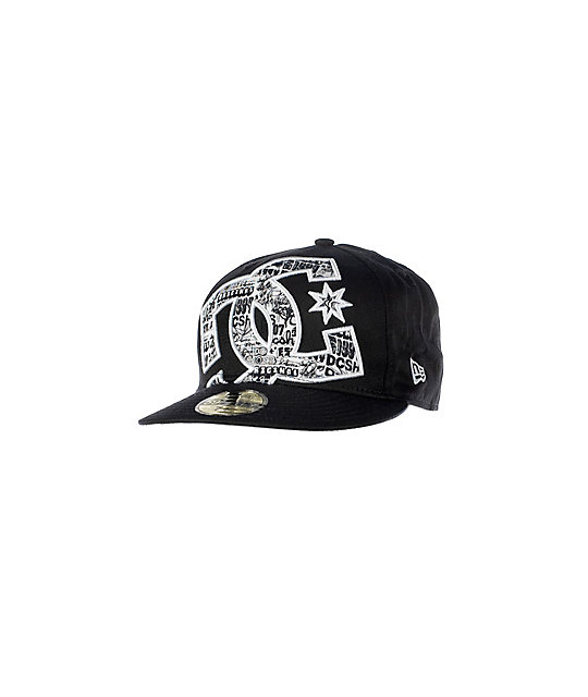 DC Pal Black New Era Fitted Hat