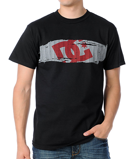 DC Paragraph Black T-Shirt