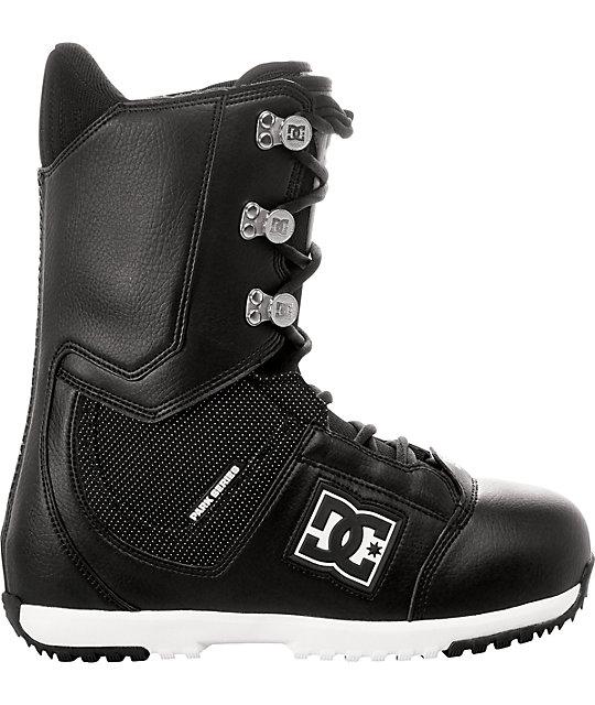 DC Park Black Snowboard Boots