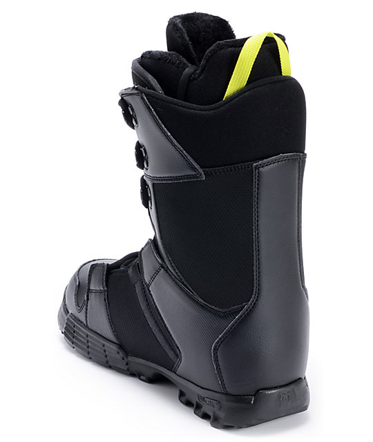 DC Phase Black Snowboard Boot