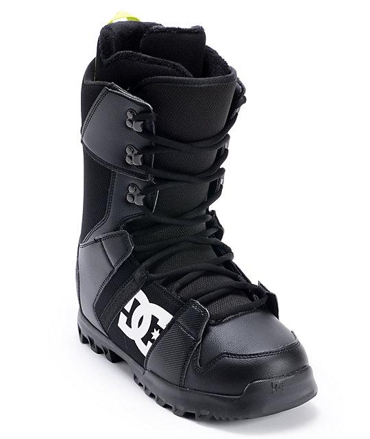 DC Phase Black Snowboard Boot