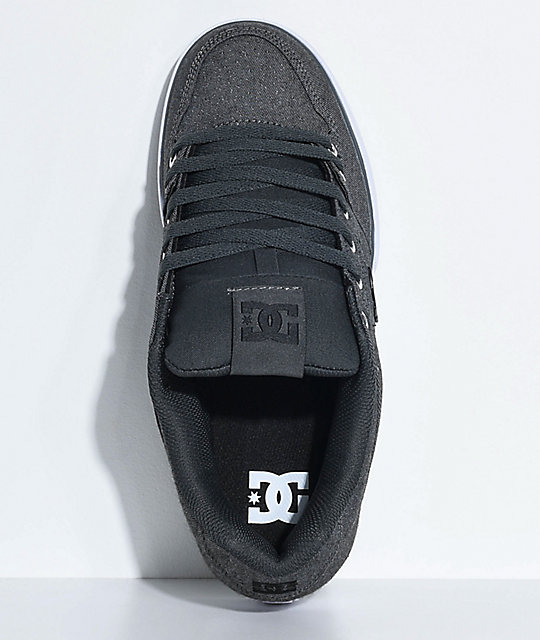 DC Pure TX SE Grey Ash & White Shoes