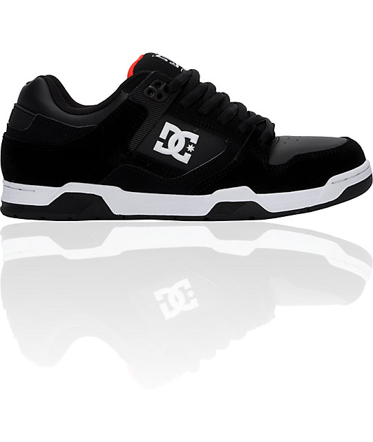 DC RD Flawless Black, White & Grey Shoes