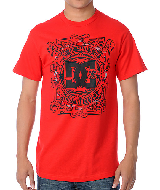 DC Release Red T-Shirt