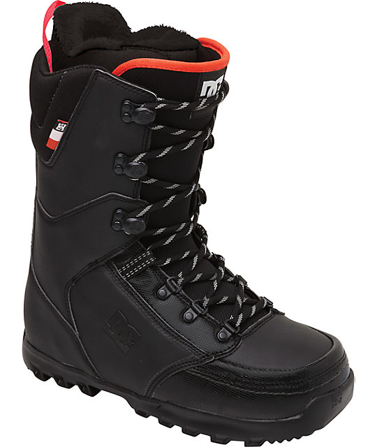 DC Rogan Black Snowboard Boots