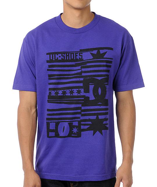 DC Roll Up Purple T-Shirt