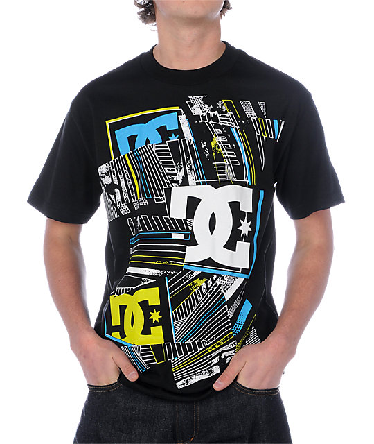 DC Rubix 2 Black T-Shirt