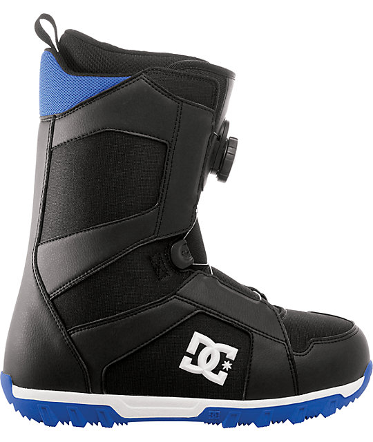 DC Scout Black & Royal Snowboard Boots