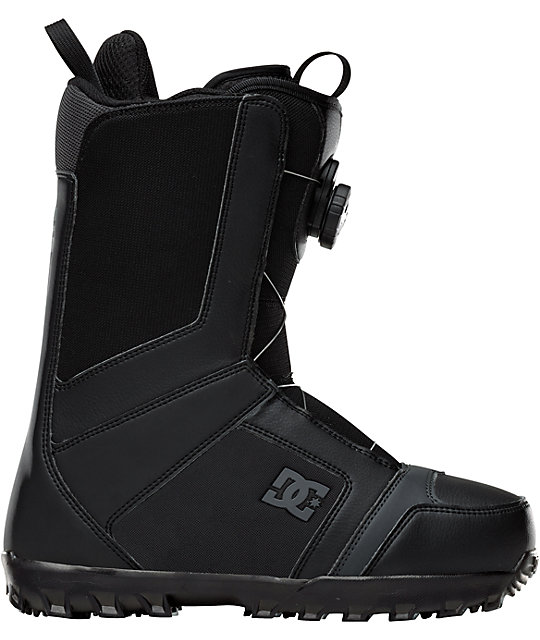 DC Scout Black Mens Snowboard Boots