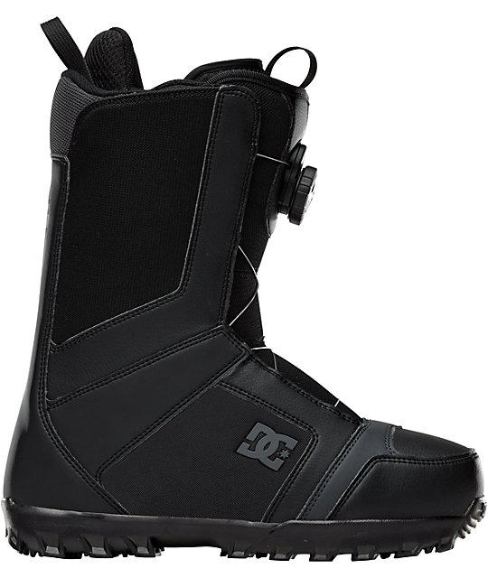DC Scout Black Mens Snowboard Boots