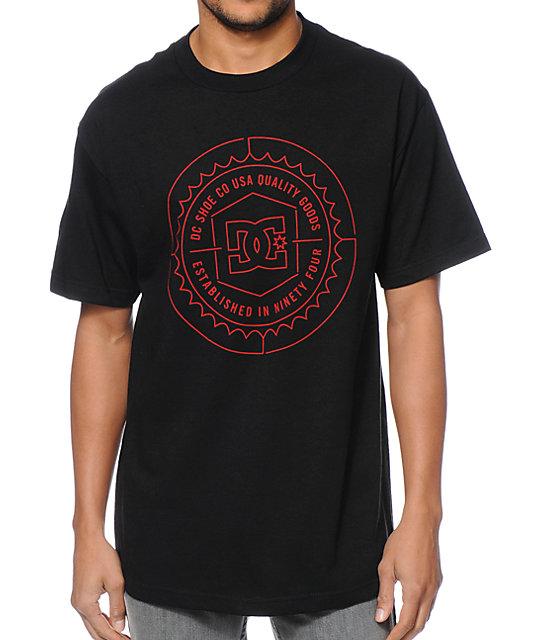 DC Sealer Black & Red T-Shirt