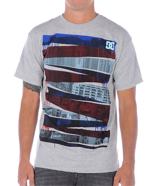 DC Sector Grey T-Shirt