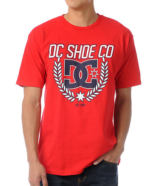 DC Shield Red T-Shirt